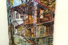 Картина върху керемида